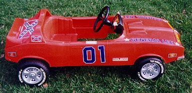 General Lee Pedal Car